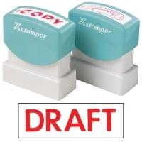 XSTAMPER STAMP - Draft (Red) 1068 (5010682)