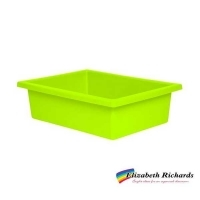 Elizabeth Richards Plastic Tote Tray Lime Green
