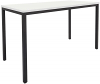 Rapidline Steel Frame Drafting Height Table 1500x750x900 White