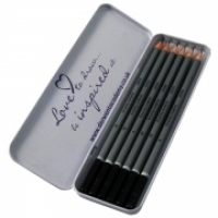 Derwent Academy Pencils Sketching tin6 2301945