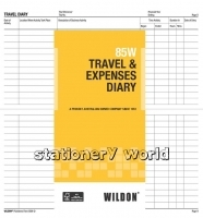 Wildon Travel & Expenses Book 85W