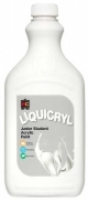 Liquicryl Junior Student Acrylic Paint 2L White