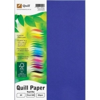 Quill Coloured Paper A4 80gsm Pack 500 - Royal Blue