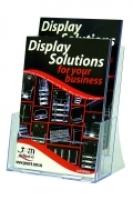 Deflecto Brochure Holder A5 2Tier 39223