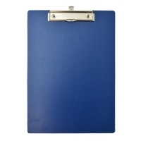 Bantex Clipboard Standard PVC A4 Blue BX20