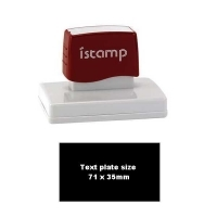 iSTAMP Pre-Inked Laser Stamp iS25 71x35mm