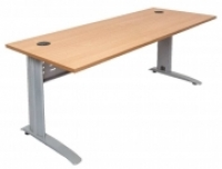 RAPID SPAN DESK 1800x700mm Beech Top/Silver Legs