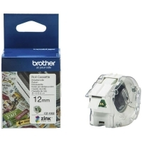 Brother CZ1002 Cassette White Label Roll 12mm wide x 5Mt long