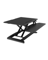 Dynamic DeskRiser Sit & Stand Workstation Small Black 70x50cm