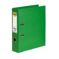 MARBIG PE LINEN LEVER Arch File A4 Green