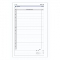 Dayplanner Refills DK1100 216x140 Daily Dated 2021