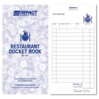 Impact Restaurant Docket Book Impact RD303 100x195 Duplicate