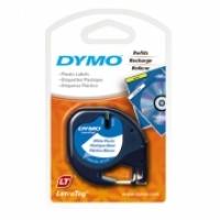 Dymo Letratag Labelling Tape PVC 91201/91331 White