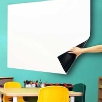 Visionchart Whiteboard On A Roll Gloss White 1220mm x 1Mt