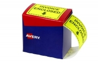 Avery Dispenser Label Printed INVOICE ENCLOSED 75x99.6mm PK750