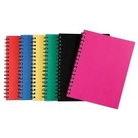 Spirax Notebook 511 Hardcover 225x175 200page PK4 Asstd