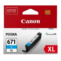 Canon Ink Cartridge CLI681XL (681CXL) Cyan