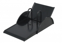 Italplast Desk Calendar Stand Top Open i120 Black