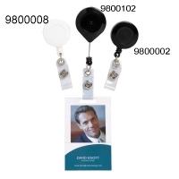 Rexel Retractable Card Holder Strap/Lockable/Nylon Cord