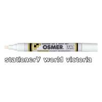 Osmer Paint Marker Quick Dry BX12 (2.5mm) 2913 White