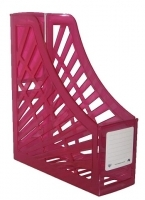 Italplast Magazine File Holder (Tint) Pink