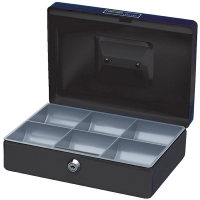 Esselte Classic Cash Box (250x180x80mm) No 10 BLACK