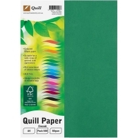 Quill Coloured Paper A4 80gsm Pack 500 - Emerald
