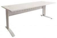 RAPID SPAN DESK 1800x700mm White Top/White Legs