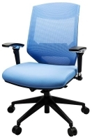 Vogue Mesh Mid Back Office Chair W04M Blue