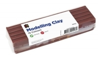 EC Modelling Clay 500gm Brown