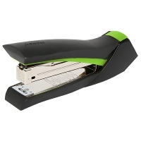 REXEL SMOOTHGRIP DESKTOP FULL STRIP STAPLER 2110004 GREEN/BLACK