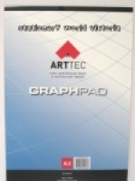 Arttec Graph Pad A3 1mm Bond 25sheet GPBA35B 70gsm