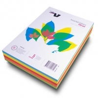 Victory Flying Colours Coloured Paper A4 Vibrant 5asst PK500