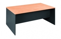 OM Desk 1350x750mm Beech/Charcoal