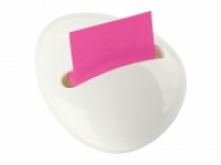 Post-it Pop Up Note Dispenser PBL-330-WH Pebble Shaped White