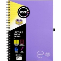 Spirax Lecture Book Kode A4 958 200Page Purple