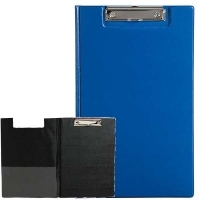 Marbig Clipboard Folder Foolscap PVC 4300501 Blue