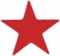 XSTAMPER ERGO STAMP - STAR SHAPE (RED) 11309