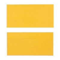 Quill Envelope 80gsm DL 110x220 Pack 25 - Sunshine