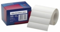 Avery Address Label Roll BX500 89x24 White 937107