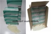 Stylus Latex Gloves 4312 BX100 Large Cream CTN-10BXS
