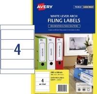 Avery Laser Label L7171 PK25 LeverArch