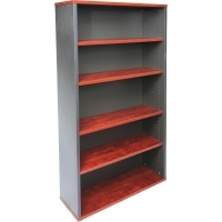 Rapid Manager Bookcase 1800Hx900Wx315D Appletree/Ironstone