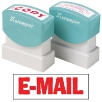 XSTAMPER STAMP - Email (Red) 1651 (5016512)