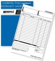 Statement Book+Remittance Advice Dup A4 C/less Impact CS640