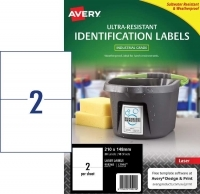 Avery L7916 Ultra-Resistant Outdoor Labels PK10sh 2/sh