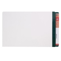 AVERY LATERAL FILE Mylar Reinfcd Tabs Fcap 42435 Dk Green/Clear