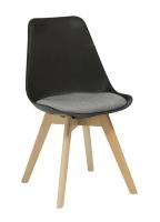 Rapidline Virgo Hospitality Chair Black with Grey Pad