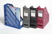 Marbig Magazine File Holder 8640 Plastic  2/pack (1colour)