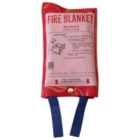 Fire Blanket 1.0 Metre x  1.0 Metre (small)